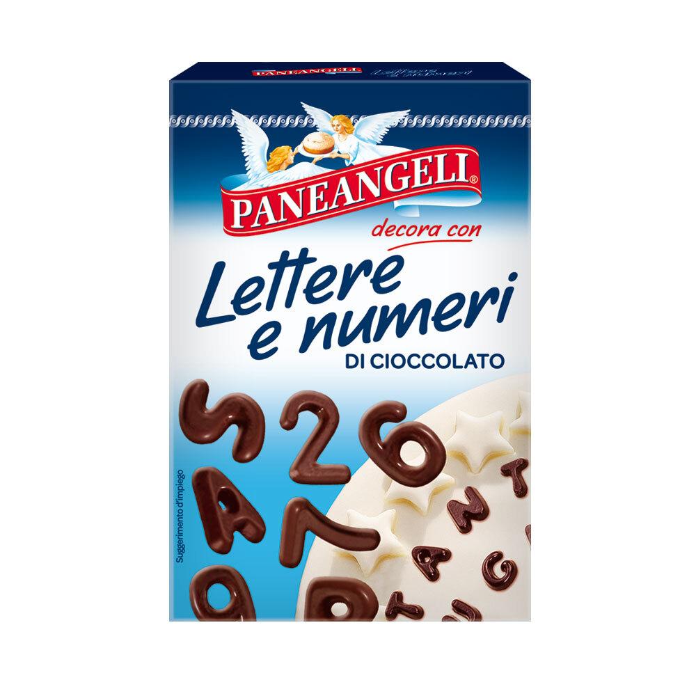 Paneangeli Lettere e Numeri di Cioccolato