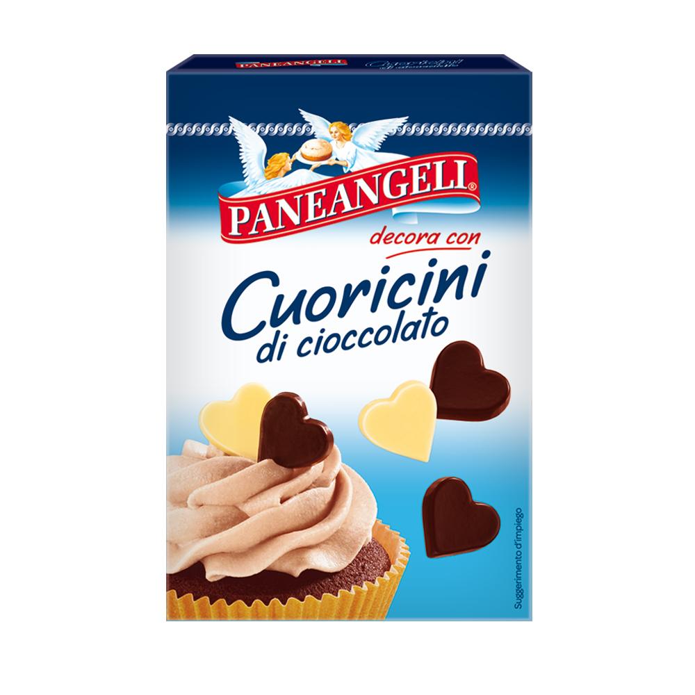 Paneangeli Cuoricini di cioccolato
