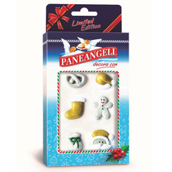 Paneangeli - Decorazioni Natalizie Limited Edition – variante colore oro/bianco oppure rosso/verde