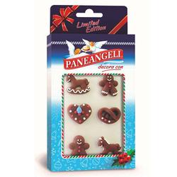 Paneangeli - Decorazioni Natalizie Limited Edition – variante colore marrone oppure bianco