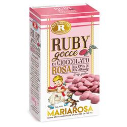 Rebecchi - Rebecchi Gocce di cioccolato rosa RUBY