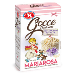 Mariarosa - Mariarosa Gocce pasticcere cioccolato bianco