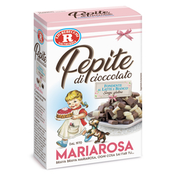 Mariarosa - Mariarosa Pepite di cioccolato fondente, al latte, bianco 125g