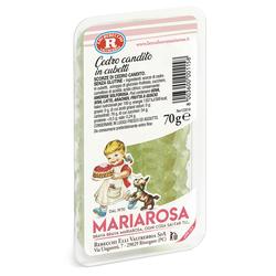 Mariarosa - Mariarosa Cedro candito in cubetti 70g
