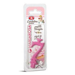 Mariarosa - Mariarosa Candelina nr 7 color rosa al profumo di vaniglia per festa di compleanno