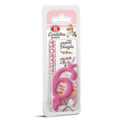 Mariarosa - Mariarosa Candelina nr 6 color rosa al profumo di vaniglia per festa di compleanno