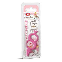 Mariarosa - Mariarosa Candelina nr 8 color rosa al profumo di vaniglia per festa di compleanno