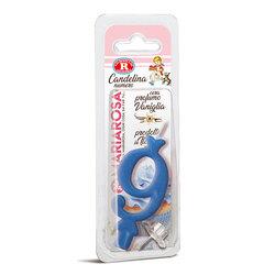 Mariarosa - Mariarosa Candelina nr 9 color azzurro al profumo di vaniglia per festa di compleanno