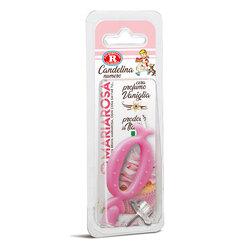 Mariarosa - Mariarosa Candelina nr 0 color rosa al profumo di vaniglia per festa di compleanno