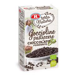 Rebecchi - Rebecchi Goccioline pasticcere di cioccolato fondente bio senza glutine 100g