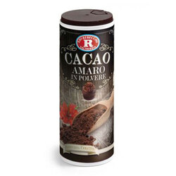 Rebecchi - Rebecchi Cacao amaro in polvere con tappo dosatore senza glutine 75g