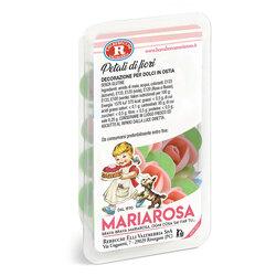 Mariarosa - Mariarosa Petali di fiori, 8 roselline in cialda senza glutine per decorazione di dolci