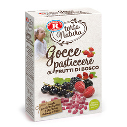 Rebecchi - Rebecchi Gocce pasticcere ai frutti di bosco senza glutine 70g