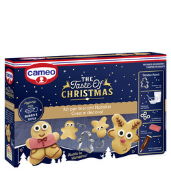 cameo - cameo Kit per Biscotti Natalizi - The Taste of Christmas