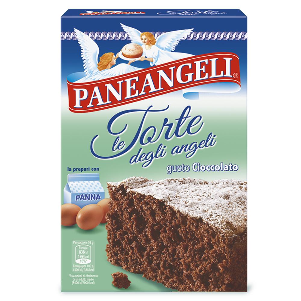 Preparato per Torta degli angeli gusto cioccolato