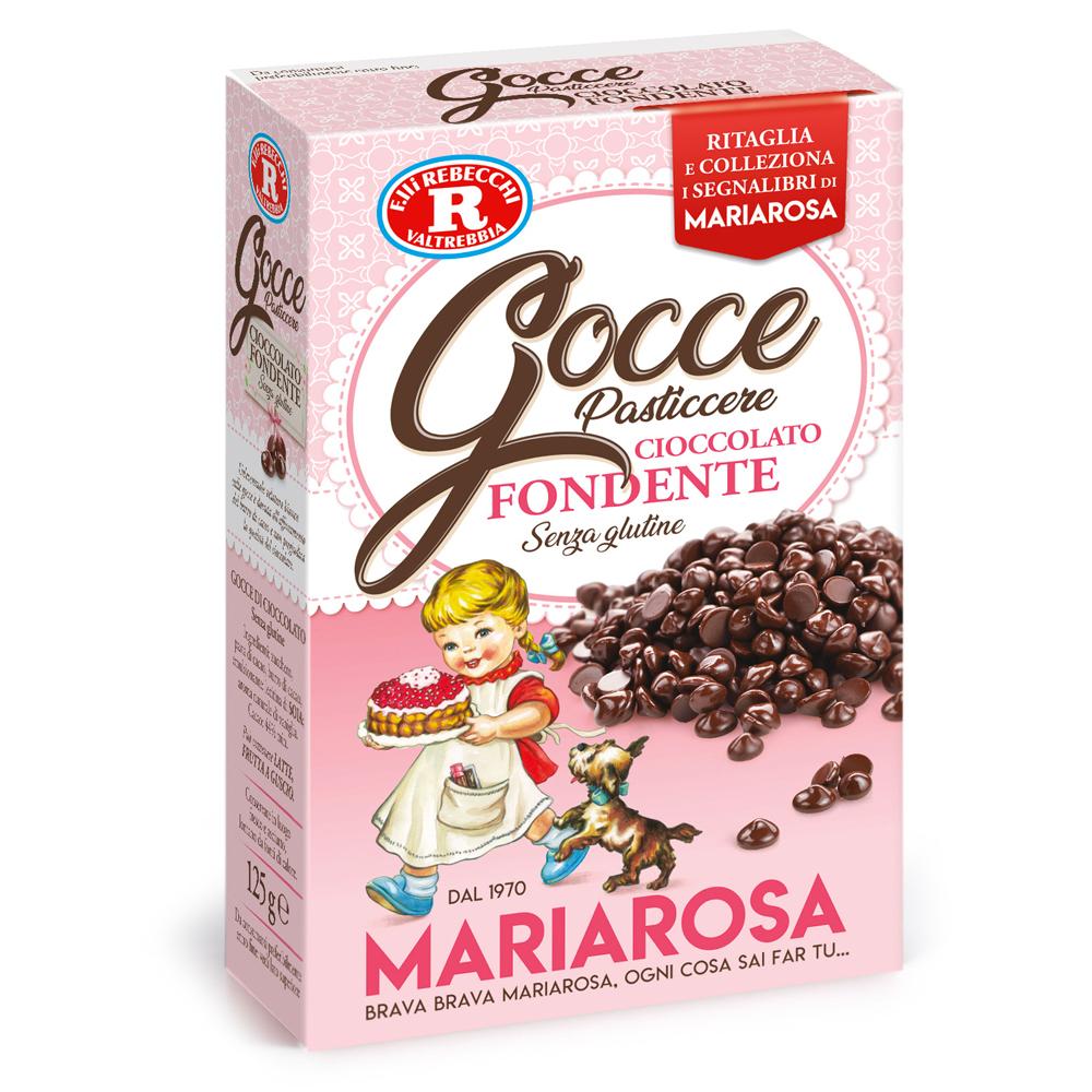 Gocce pasticcere cioccolato fondente