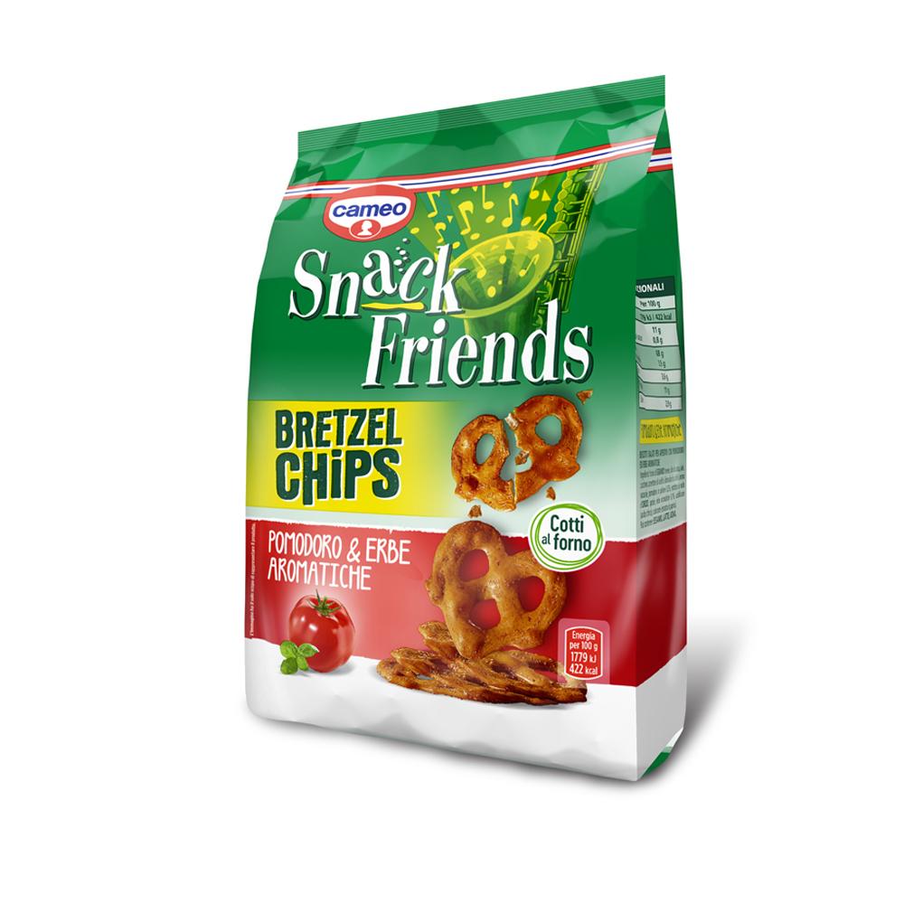 Bretzel Chips Pomodoro & Erbe Aromatiche 100g