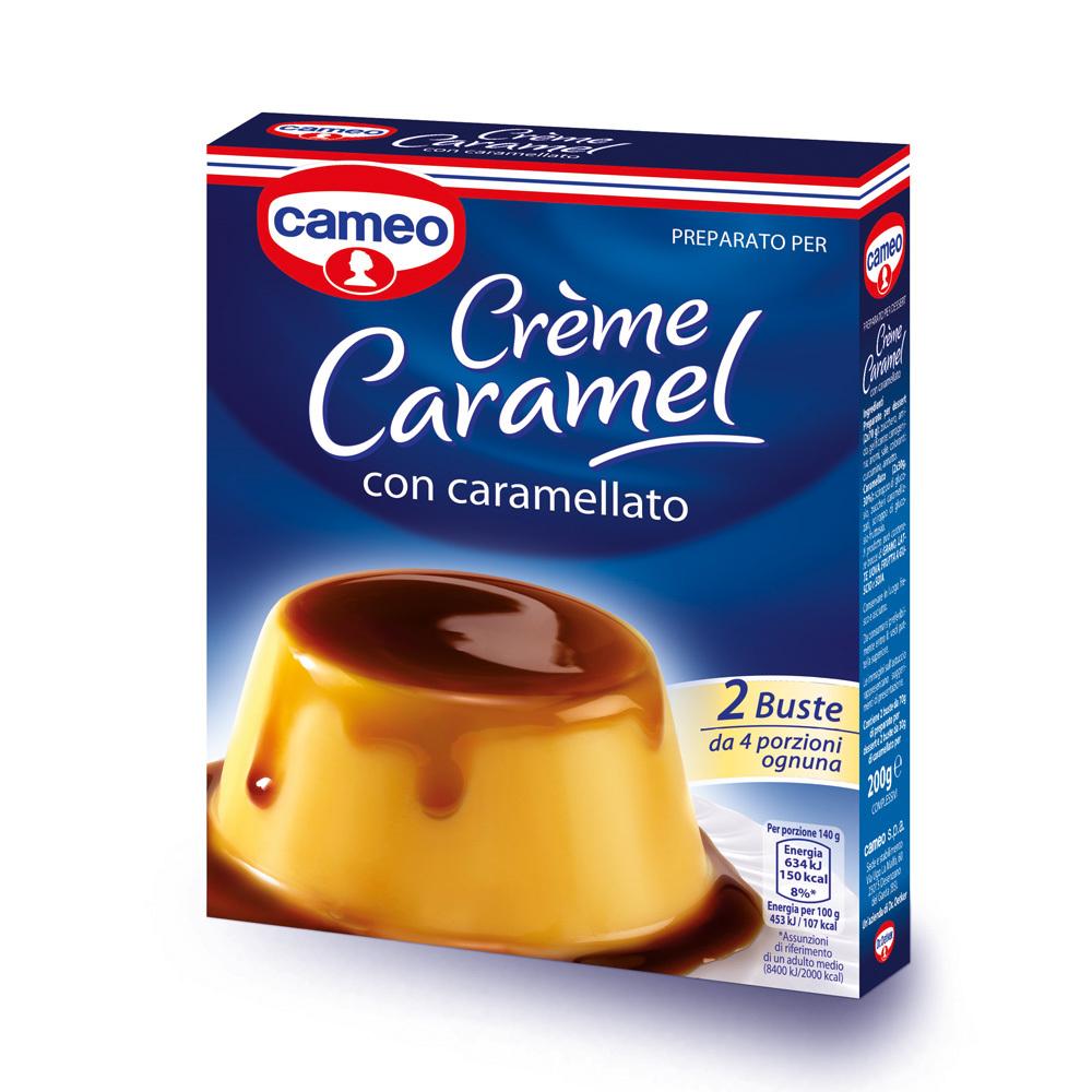 Crème Caramel con caramellato