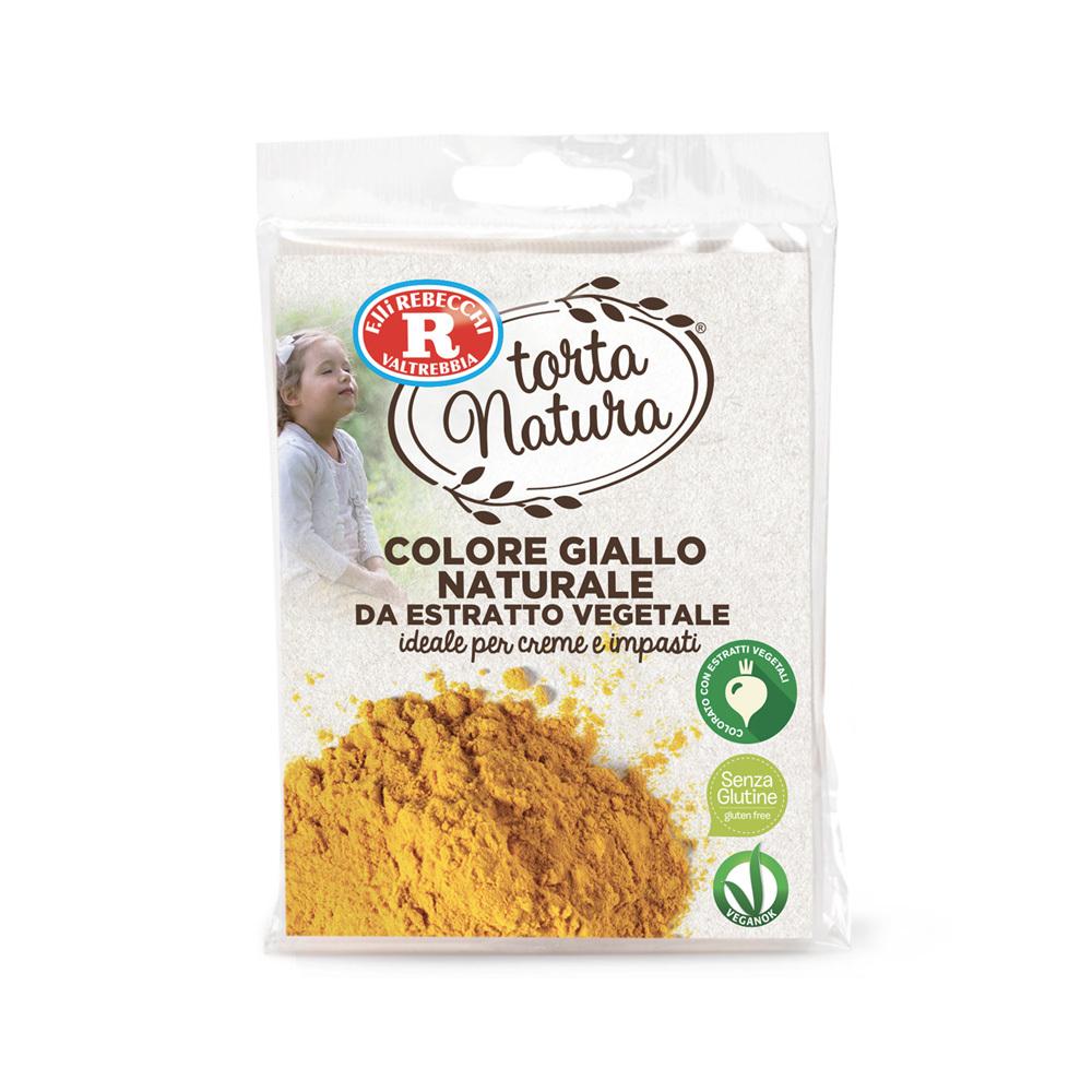 Colore giallo naturale da estratto vegetale
