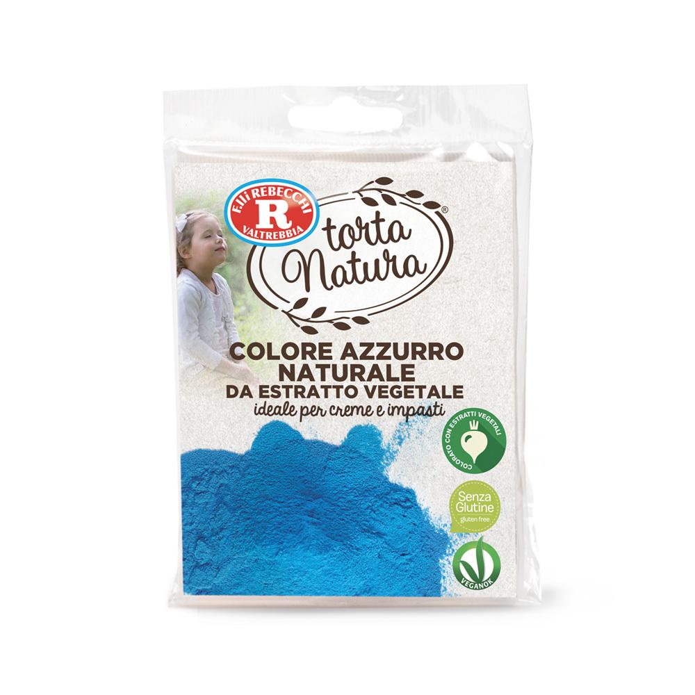 Colore azzurro naturale da estratto vegetale