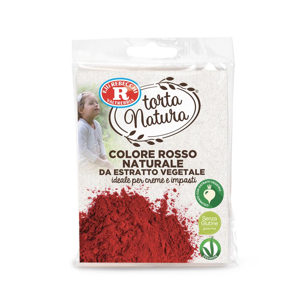 Colore rosso naturale da estratto vegetale