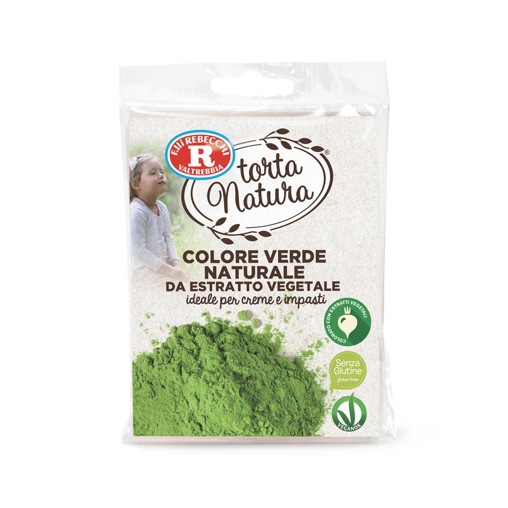 Colore verde naturale da estratto vegetale