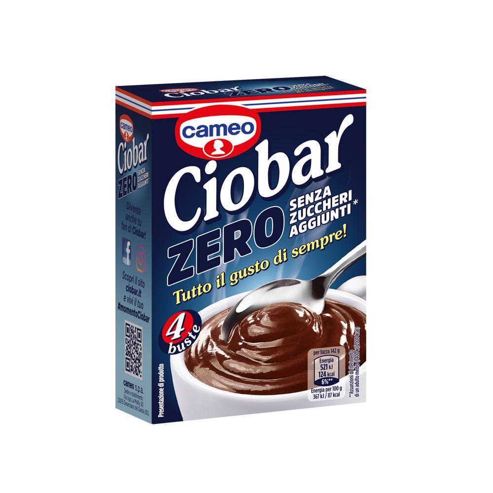 Ciobar Zero – senza zuccheri aggiunti*