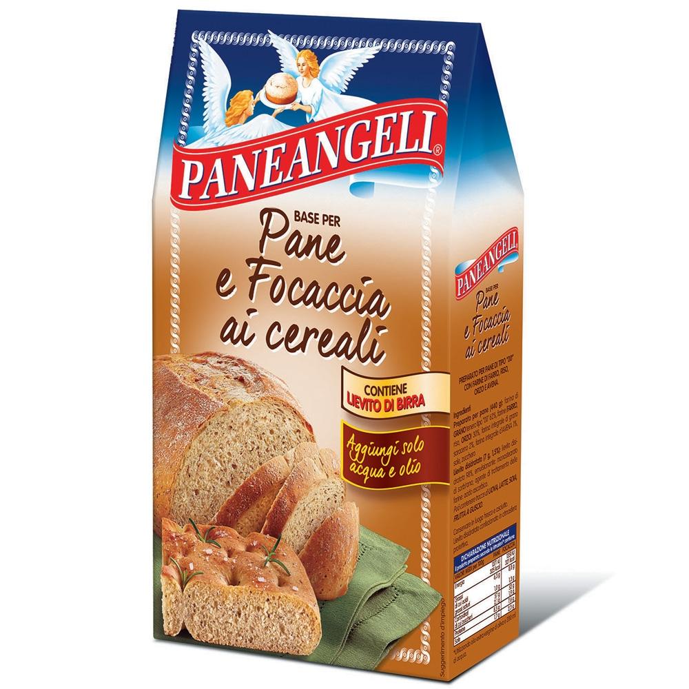 Base per pane e focaccia ai cereali