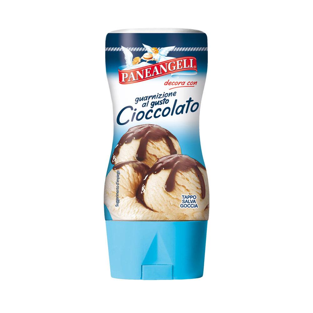 Guarnizione al gusto cioccolato